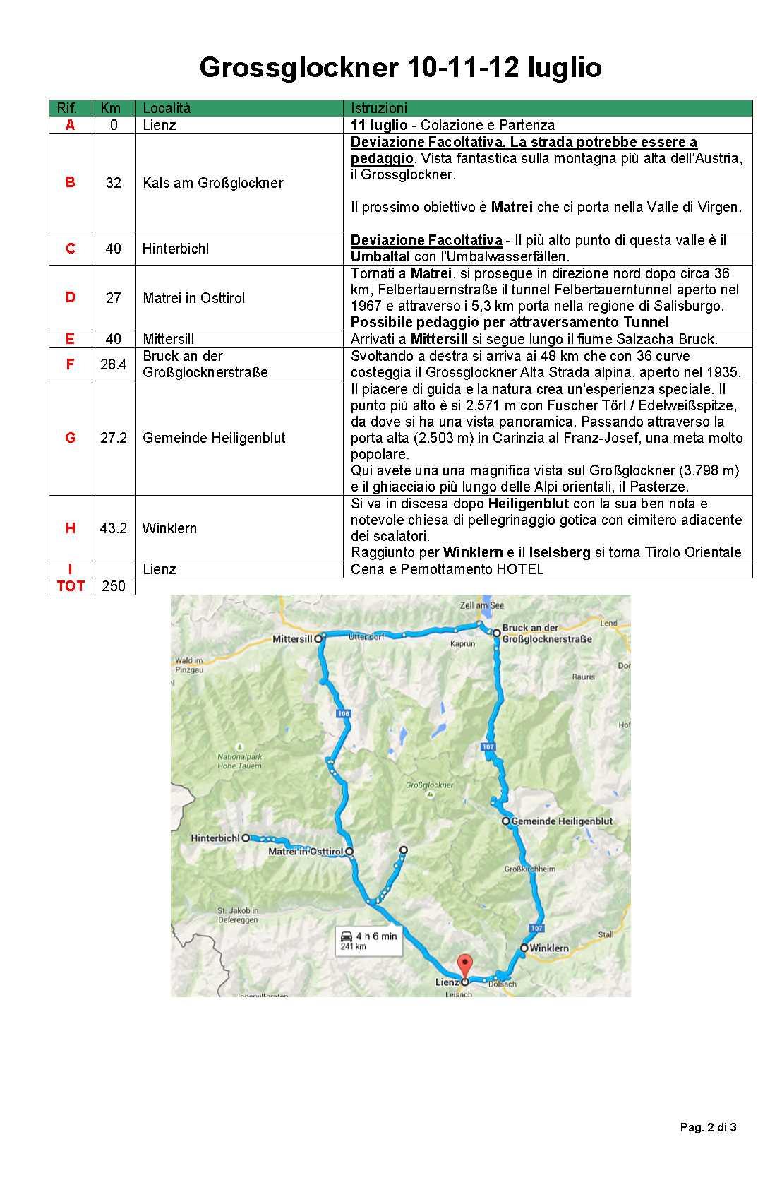 Programma Grossglockner 10-11-12 lug_2